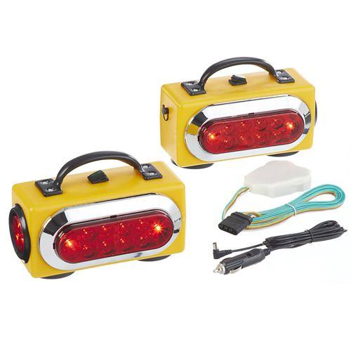 MotoMaster LED Wireless Trailer Light Kit