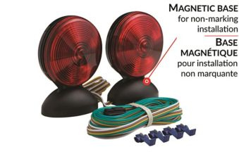 Optronics Magnet-Mount Towing Light Kit with 25 Wiring ... on