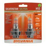 Ampoules de phare H13 Sylvania SilverStar ULTRA, paq. 2 | Sylvania | Canadian Tire