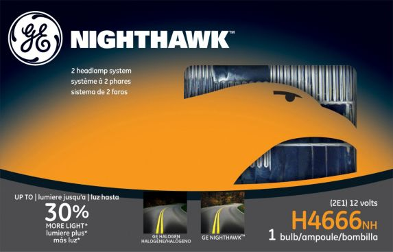 GE Nighthawk Sealed Beams, H4666