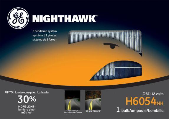 GE Nighthawk Sealed Beams, H6054