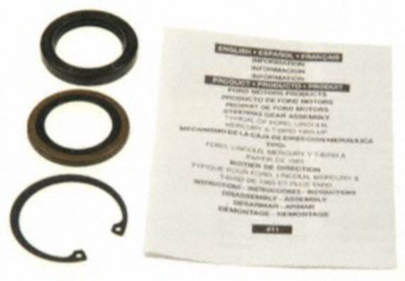 Edelmann Power Steering Repair Kit - Pitman Shaft Bearing/Seal/Kit