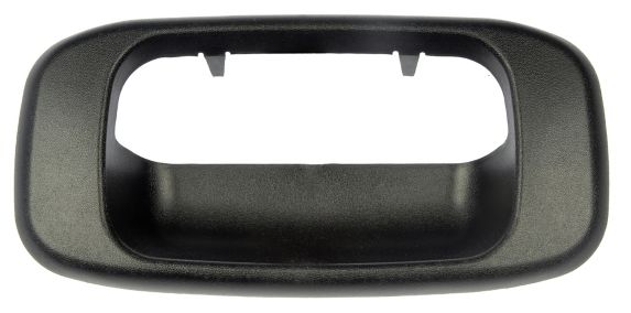 Dorman Tailgate Handle Bezel, Black
