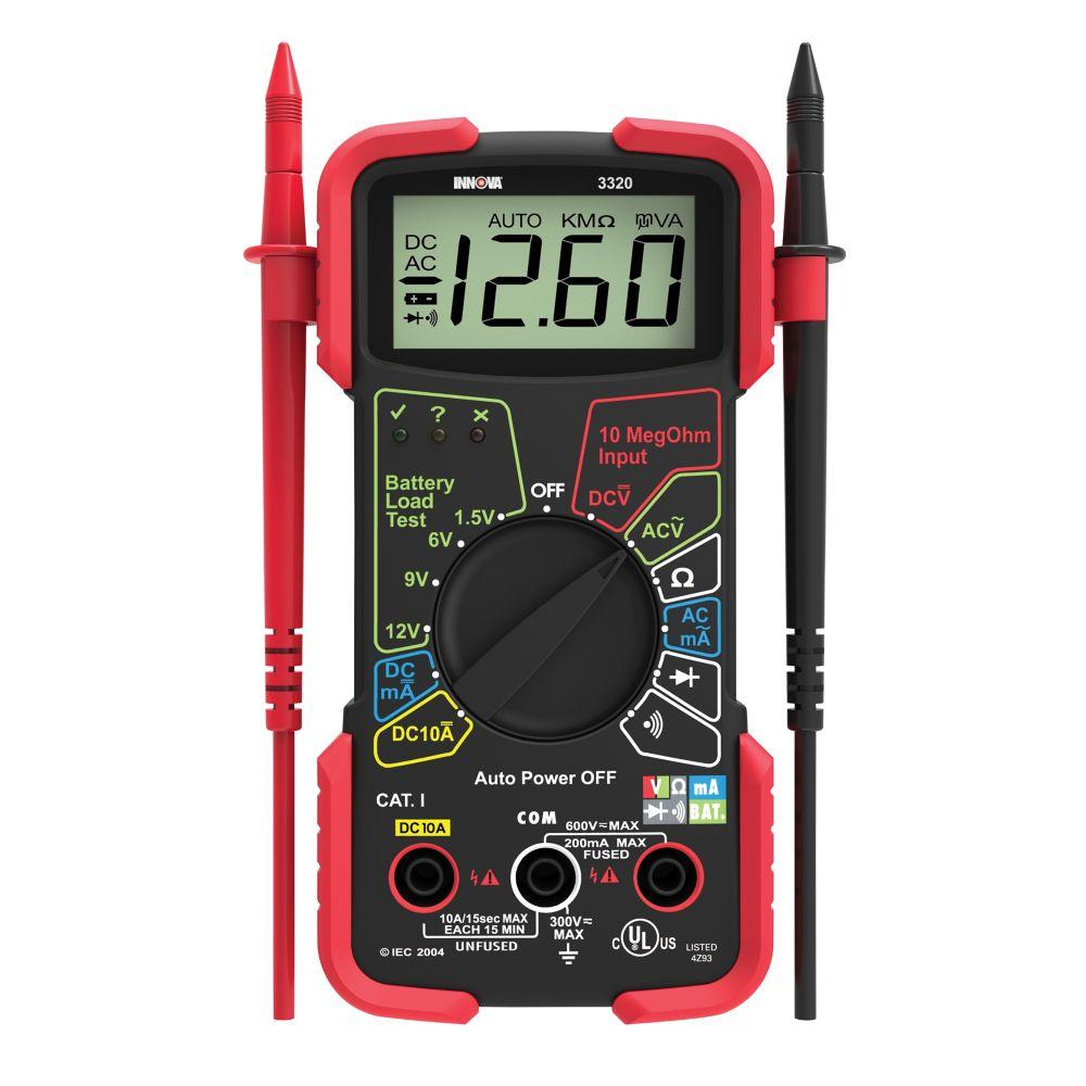 Innova 3320 Autoranging Multimeter