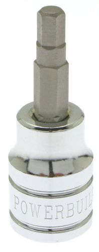 Powerbuilt 6 mm Hex Bit Socket