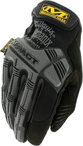 Gants Mechanix Wear M-Pact, noir / gris