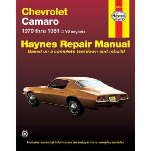Haynes Automotive Manual, 24015