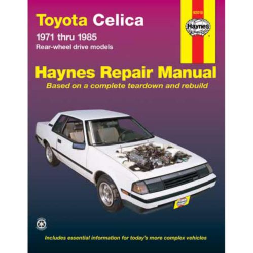 Haynes Automotive Manual, 92015