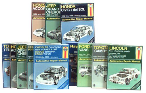 Haynes Automotive Manual, 42013