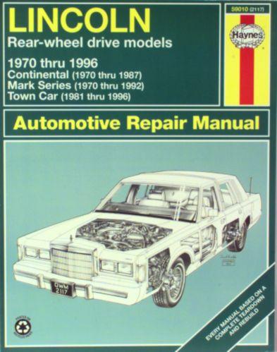 Manuel automobile Haynes, 59010