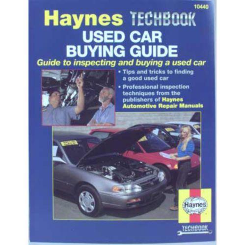 Haynes Used Car Techbook Product image