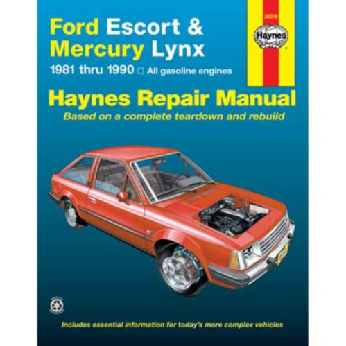 Manuel automobile Haynes, 36016 Image de l'article