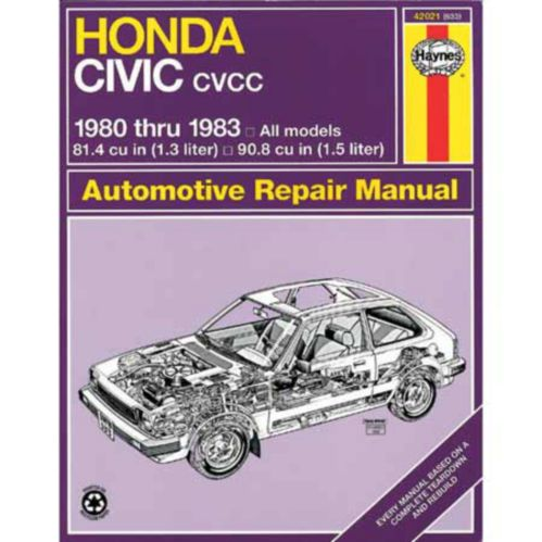 Haynes Automotive Manual, 42021