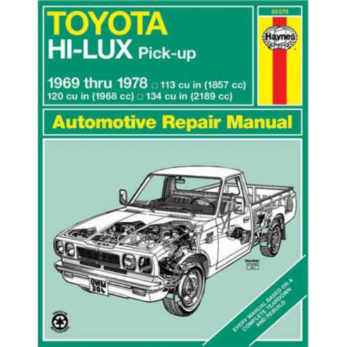 Haynes Automotive Manual, 92070 Product image