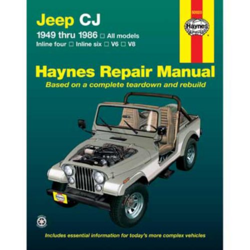 Haynes Automotive Manual, 50020