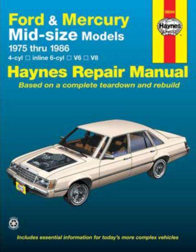 Manuel automobile Haynes, 36044