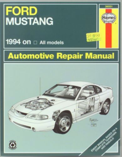 Haynes Automotive Manual, 36051