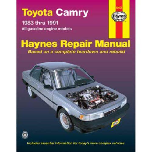 Haynes Automotive Manual, 92005