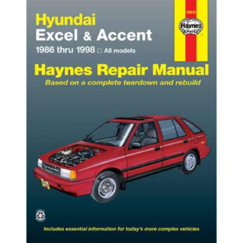 Manuel automobile Haynes, 43015