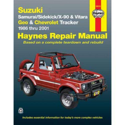 Manuel automobile Haynes, 90010