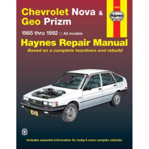 Haynes Automotive Manual, 24060