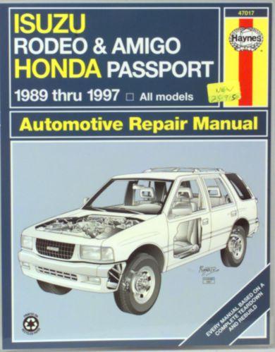 Manuel automobile Haynes, 47017