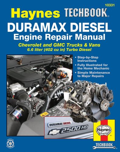 Haynes Duramax Diesel Engine Repair Manual, 2001-2012