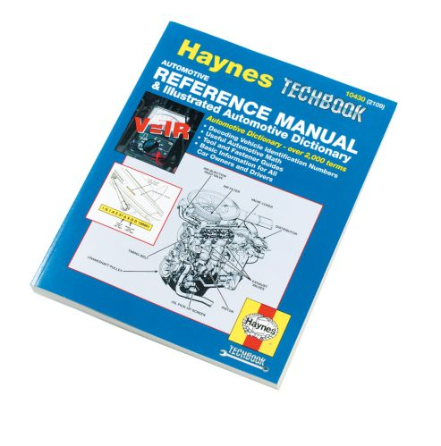 Haynes Techbook, Automotive Reference Manual
