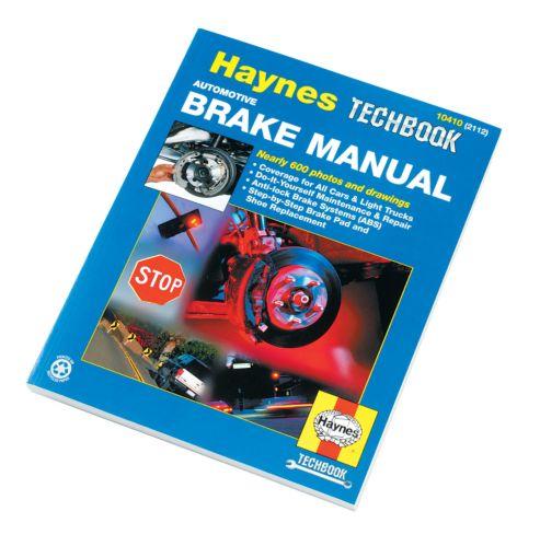 Haynes Techbook, Brakes