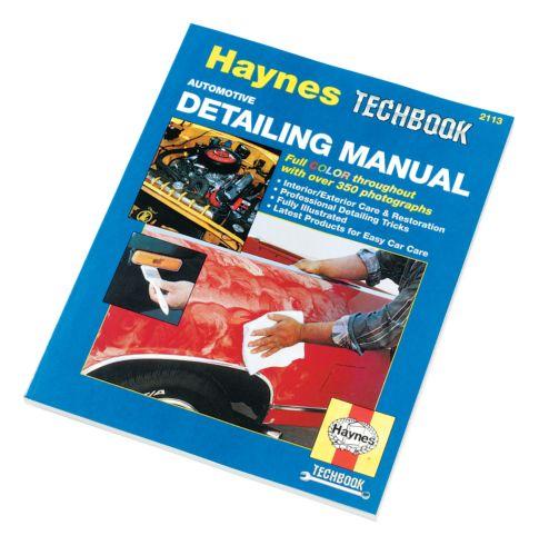 Haynes Techbook, Detailing