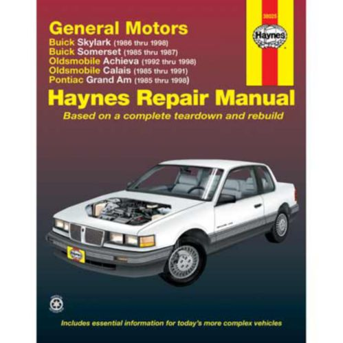 Haynes Automotive Manual, 38025