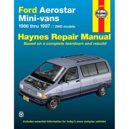 Haynes Automotive Manual, 36004
