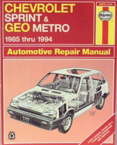 Haynes Automotive Manual, 24075