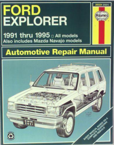 Haynes Automotive Manual, 36024