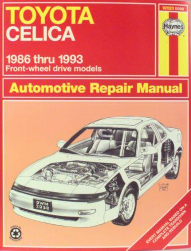 Haynes Automotive Manual, 92020