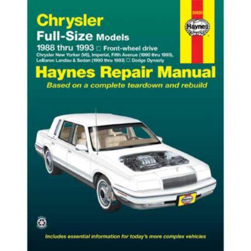 Haynes Automotive Manual, 25020