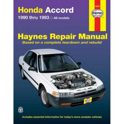 Haynes Automotive Manual, 42012