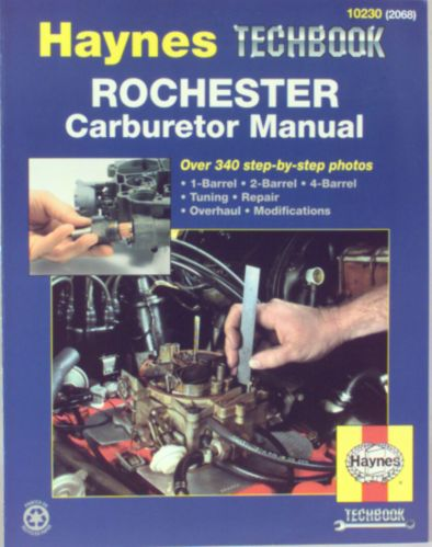 Haynes Techbook, Rochester Product image
