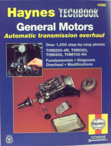 Haynes Techbook, GM Automatic