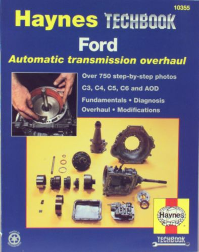 Haynes Techbook, transmission automatique Ford