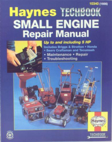 Haynes Techbook, Small Engine Repair, Up to 5 HP