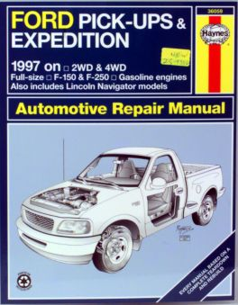 Manual Ford F-150 F-250 Expedition Lincoln Navigator Service ...