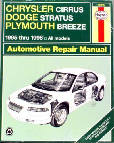 Haynes Automotive Manual, 25015
