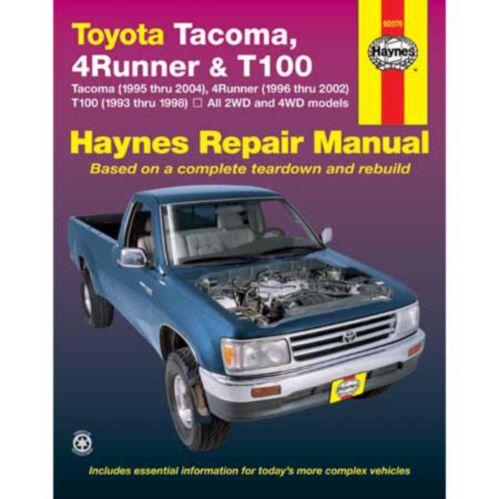 Manuel automobile Haynes, 92076