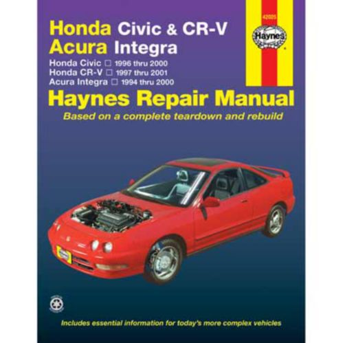 Haynes Automotive Manual, 42025