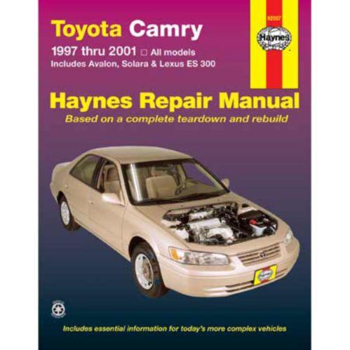 Manuel automobile Haynes, 92007