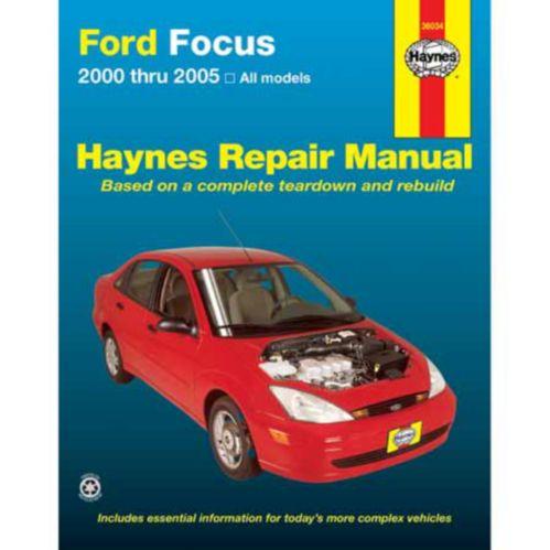 Manuel automobile Haynes, 36034