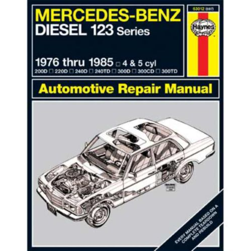 Haynes Automotive Manual, 63012
