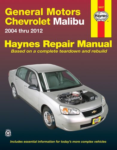 Haynes Chevrolet Malibu Repair Manual, 38027, 2004-2007