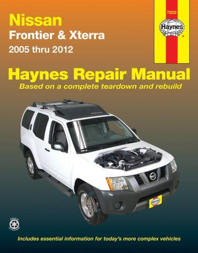 Haynes Nissan Frontier & Xterra Repair Manual, 72032, 2005-2007